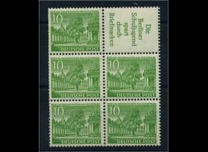 BERLIN 1952 HBl.6 postfrisch (113385)