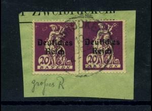 DEUTSCHES REICH 1920 Nr 122III gestempelt (113705)