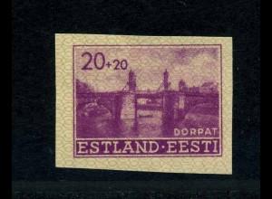 ESTLAND 1941 Nr 5U postfrisch (113779)