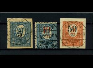 OBERSCHLESIEN 1920 Nr 10-12 gestempelt (113877)