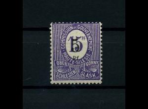 OBERSCHLESIEN 1920 Nr 10F postfrisch (113883)
