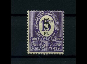 OBERSCHLESIEN 1920 Nr 10F siehe Beschreibung (113894)