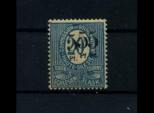 OBERSCHLESIEN 1920 Nr 10 IX siehe Beschreibung (113919)