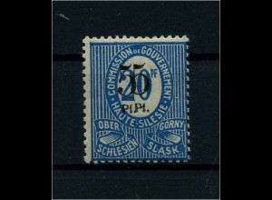 OBERSCHLESIEN 1920 Nr 10 VIII siehe Beschreibung (113924)