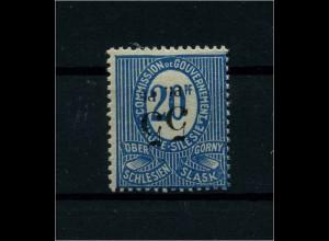 OBERSCHLESIEN 1920 Nr 10 XI siehe Beschreibung (113926)