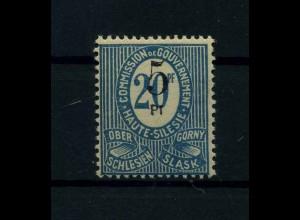 OBERSCHLESIEN 1920 Nr 10 VII siehe Beschreibung (113929)