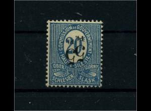 OBERSCHLESIEN 1920 Nr 10 XI siehe Beschreibung (113936)