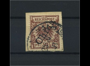 DP CHINA 1898 Nr 6II gestempelt (115885)
