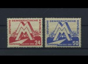 DDR 1951 Nr 282-283 postfrisch (115963)