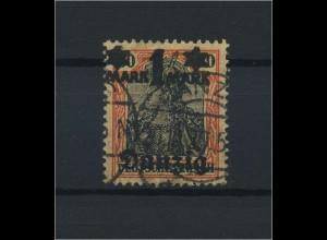 DANZIG 1920 Nr 41III gestempelt (116460)