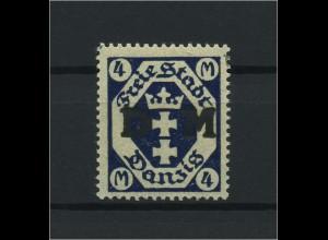 DANZIG 1921 Nr D14 postfrisch (116478)