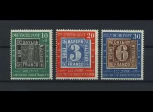 BUND 1949 Nr 113-115 postfrisch (116693)