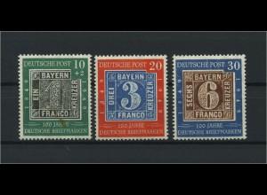 BUND 1949 Nr 113-115 postfrisch (116695)