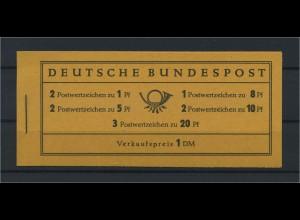 BUND 1958 MH 4Y postfrisch (116776)