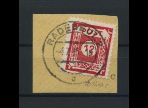 SBZ 1945 Nr 46DIIIa gestempelt (116907)