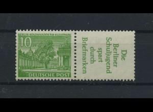 BERLIN 1952 ZD W21 postfrisch (117547)