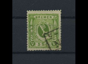BREMEN 1866 Nr 15 gestempelt (117748)