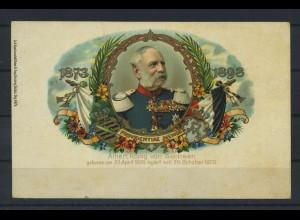 AK Albert Koenig von Sachsen siehe Beschreibung (117770)