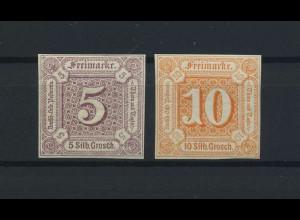 THURN+TAXIS 1859 Nr 18+19 postfrisch (118229)
