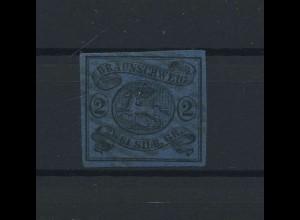 BRAUNSCHWEIG 1853 Nr 7 gestempelt (118237)