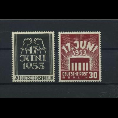BERLIN 1953 Nr 110-111 postfrisch (118477)