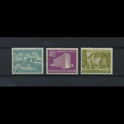 BERLIN 1954 Nr 121-123 postfrisch (118480)