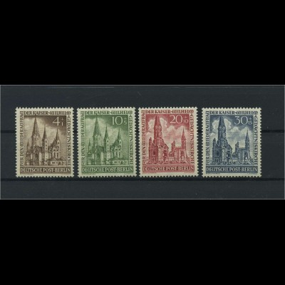 BERLIN 1953 Nr 106-109 postfrisch (118481)