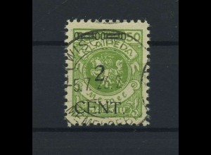 MEMEL 1923 Nr 177 gestempelt (118500)