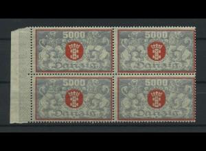 DANZIG 1923 Nr 122 postfrisch (119286)