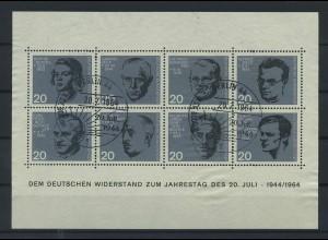 BUND 1964 Bl.3 gestempelt (119468)