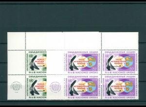 UNO NEW YORK 1968 Nr 204-205 postfrisch (200763)