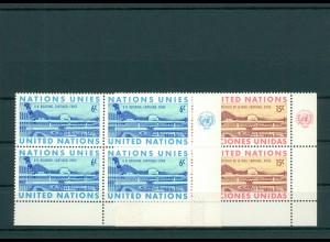 UNO NEW YORK 1969 Nr 210-211 postfrisch (200768)