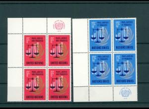 UNO NEW YORK 1970 Nr 229-230 postfrisch (200773)