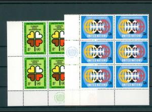 UNO NEW YORK 1971 Nr 236-237 postfrisch (200780)