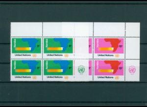 UNO NEW YORK 1973 Nr 260-261 postfrisch (200792)