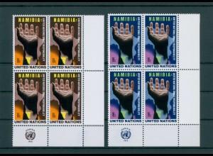 UNO NEW YORK 1975 Nr 285-286 postfrisch (200803)