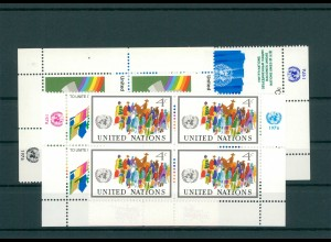 UNO NEW YORK 1976 Nr 289-292 postfrisch (200805)