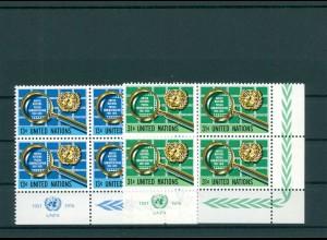 UNO NEW YORK 1976 Nr 299-300 postfrisch (200807)