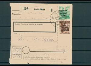 Paketkarte 1948 BAD LAUSICK siehe Beschreibung (200851)
