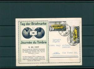 TAG DER BRIEFMARKE 1937 Beleg siehe Beschreibung (201246)