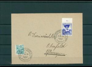 TAG DER BRIEFMARKE 1938 Beleg siehe Beschreibung (201255)
