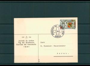 TAG DER BRIEFMARKE 1941 Beleg siehe Beschreibung (201258)