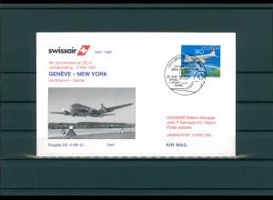SCHWEIZ 1997 Erstflugbeleg siehe Beschreibung (202324)