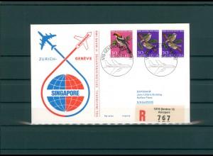 SCHWEIZ 1969 Erstflugbeleg siehe Beschreibung (202329)