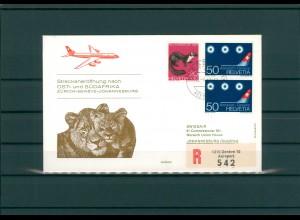 SCHWEIZ 1967 Erstflugbeleg siehe Beschreibung (202331)
