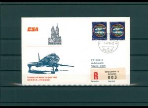 SCHWEIZ 1968 Erstflugbeleg siehe Beschreibung (202333)