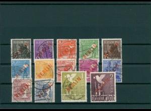 BERLIN 1948 Nr 21-34 gestempelt (202805)