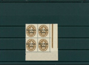DEUTSCHES REICH 1920 Nr D39 I postfrisch (202845)