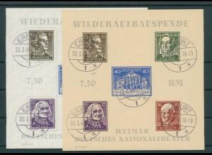 SBZ 1945 Bl.3A/B gestempelt (203931)