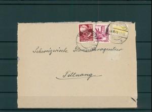FRZ.ZONE WUERTTEMBERG 1949 Brief siehe Beschreibung (203960)